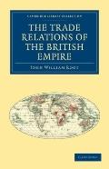 Trade Relations of the British Empire
