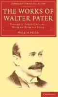 Works of Walter Pater