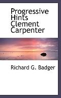Progressive Hints Clement Carpenter