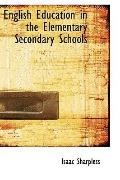 English Education in the Elementary Secondary Schools