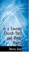 in a Country Church Yard and Other Poems