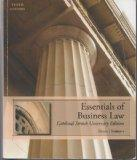 Essentials of Business Law: Cardinal Stritch University Edition