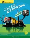 Bundle: College Accounting, Chapters 1-15, 20th + CengageNOW Printed Access Card