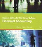 Financial Accounting: Custom Edition for Rio Hondo College (Customer Edition for Rio Hondo C...