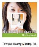 Abnormal Psychology and Life : A Dimensiona