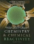 Chemistry and Chemical Reactivity - Student Solutions Manual