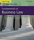 Fundamentals of Business Law:Summarized Cases