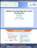 WebTutor(TM) Advantage on Angel Printed Access Card for Ehrlich/Schroeder's Medical Terminol...