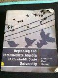Begining and Intermediate Algebra at Humboldt State University