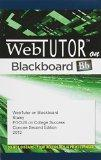 WebTutor(TM) on Blackboard with eBook on Gateway, 1 term (6 months) Printed Access Card, Con...