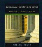 Business Law Today Standard Edition (University of Louisiana - Monroe)