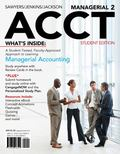 Managerial ACCT : 2012 Student Edition (with Printed Access Card)