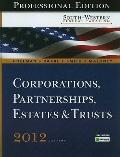South-Western Federal Taxation 2012: Corporations, Partnerships, Estates and Trusts, Profess...