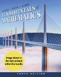 Bundle: Cengage Advantage Books: Fundamentals of Mathematics, 10th + Enhanced WebAssign with...