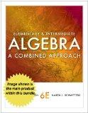Bundle: Cengage Advantage Books: Elementary and Intermediate Algebra: A Combined Approach, 6...