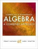 Bundle: Elementary and Intermediate Algebra: A Combined Approach, 6th + Enhanced WebAssign w...