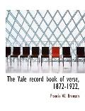 The Yale Record Nook of Verse, 1872-1922,