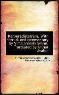 Karpuradistotram. With introd. and commentary by Vimalananda Svami. Translated by Arthur Avalon