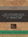 Rudimentum Anglo-Latinum grammaticae literalis & numeralis in usum scholae regiae West-monas...