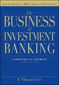 Business of Investment Banking : A Comprehensive Overview