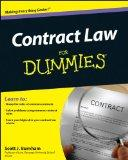 Contract Law For Dummies (For Dummies (Business & Personal Finance))