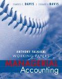 Managerial Accounting : Working Papers