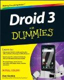 Droid 3 For Dummies (For Dummies (Computer/Tech))