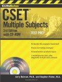CliffsNotes CSET : Multiple Subjects with CD-ROM