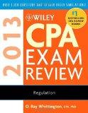 Wiley CPA Exam Review 2013 : Regulation