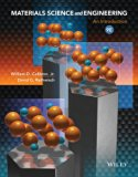 Materials Science and Engineering: An Introduction 9e + WileyPLUS Registration Card