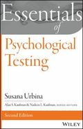 Essentials of Psychological Testing (Essentials of Behavioral Science)