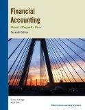 Financial Accounting Kimmel, Weygandt & Kieso 7th Edition, Siena College Edition