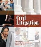 Bundle: Civil Litigation, 6th + Paralegal Online Courses - Civil Litigation on Blackboard Pr...