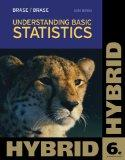 Understanding Basic Statistics, Hybrid (with Aplia Printed Access Card) (Cengage Learning 's...