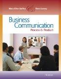 Bundle: Business Communication: Process and Product (with meguffey.com Printed Access Card),...