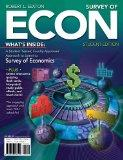 Bundle: Survey of ECON (with Printed Access Card) + Aplia Printed Access Card + Aplia Editio...