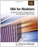 VBA for Modelers: Developing Decision Support Systems with Microsoft Office Excel Printed Ac...