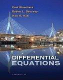 Differential Equations Chapter 1-6 w/ Student Solutions Manual + DE Tools CD-ROM