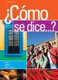 Bundle: Como se dice...?, 10th + Student Activities Manual + Premium Web Site Printed Access...