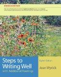 Steps to Writing Well with Additional Readings, English CourseMate Edition