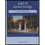 Soci 111 General Sociology Columbia College Edition By Diana Kendall and REA Super Review So...