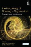 Psychology of Planning in Organizations : Research and Applications