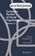 European Review of Social Psychology: Volume 17