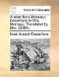 Letter from Monsieur Desenfans to Mrs Montagu Translated by Mrs Griffith