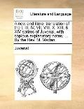 New and Literal Translation of the I, III , Iv, Vii, Viii, X, Xiii, by the Rev M Mad