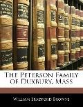 The Peterson Family of Duxbury, Mass