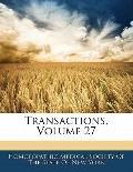 Transactions, Volume 27
