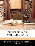 Proceedings, Volumes 18-19