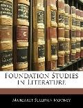 Foundation Studies in Literature