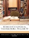 Medico-Chirurgical Transactions, Volume 70